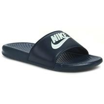 New Nike Banassi JDI 343880-403 Midnight Blue Slippers Men - $25.00