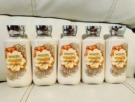 5 Bath Body Works Womens Warm Vanilla Sugar  Body Lotion Full Size - $34.60