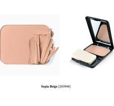 Color Me Beautiful, Perfection Microfine Powder Foundation, Sepia Beige ... - $18.99