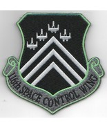 """4"""" 116TH SPACE CONTROL WING CREST SPACE FORCE NEON GREEN EMBROIDERED PATCH - $23.74"""