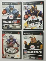 PS2 Football Game Lot of 4 Titles SEE DESCRIPTION For Titles - $14.95