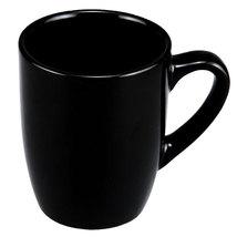 Set of Four~12-oz. Classic Black Stoneware Mugs - $26.99