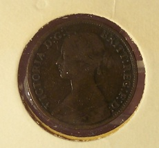 KM#747.2 Great Britain 1865 Farthing F/VF #01169 - $4.99