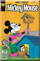 Walt Disney Mickey Mouse #196 (1979) *Bronze Age / Whitman Comics / Pluto* - $4.00
