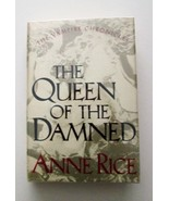 The Queen of the Damned by Anne Rice (1988, Hardcover) HCDJ - $7.99