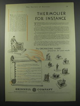 1930 Grinnell Company Ad - Thermolier for instance - $14.99