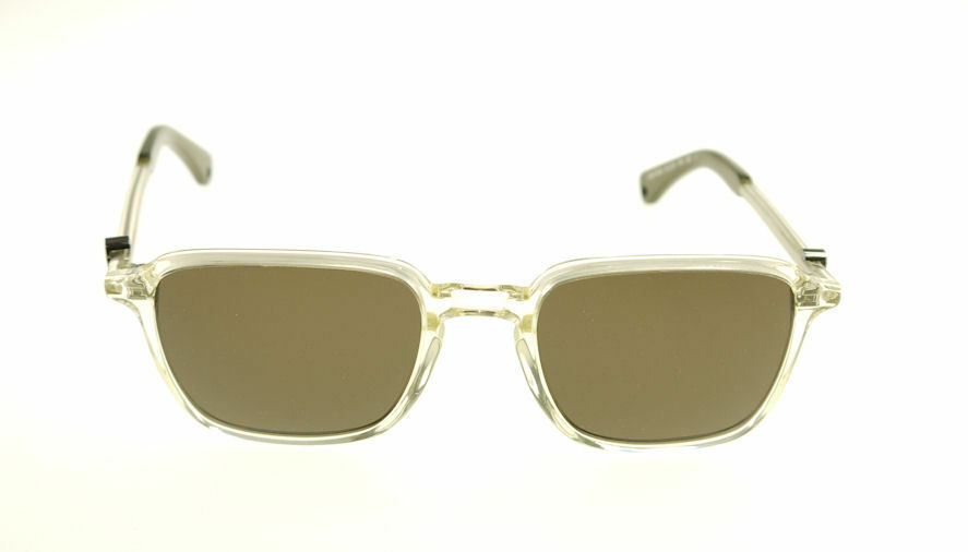 MONCLER MC017-S04 Yellow Clear / Green Sunglasses MC 017S-04 image 2