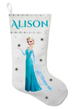 Frozen Christmas Stocking, Personalized Elsa Christmas Stocking, Elsa St... - $29.99