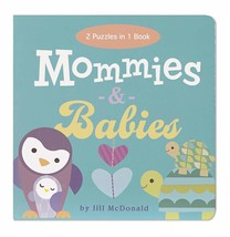 C.R. Gibson Mommies and Babies Puzzle Play Book by Jill McDonald Kids - $14.42