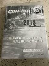 2013 Peut Am Outlander Renegade Service Atelier Réparation Manuel OEM - $188.13