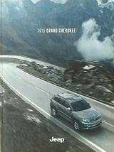 2015 Jeep GRAND CHEROKEE brochure catalog US Summit Overland Limited Lar... - $10.00