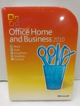 Microsoft Office 2010 Home and Business Software Word Excel OneNote New ... - $204.95