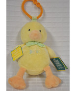 New CARTER'S Yellow DUCK Just ONE Year PLUSH Baby Toy LIGHT Up MUSICAL C... - $14.85
