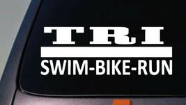 "Tri Decal Sticker Triathalon 6"" - $3.98"