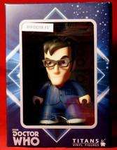 Dr Who 10th Doctor Titans Vinyl 4.5 inch Figure Nerd Block Exclusive New... - $12.00