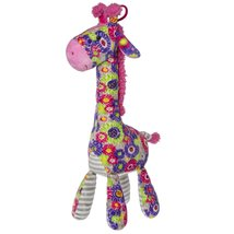 Mary Meyer Print Pizzazz Kaleidoscope Giraffe Plush Toy - $17.31