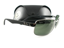 a2224889cd Ray-Ban RB3478 Sunglasses Gunmetal Green Polarized 004 58 New Authentic -  £105.46