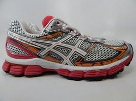Asics GT 3000 v 2 Size 10 M (B) EU 42 Women's Running Shoes White Pink T450N