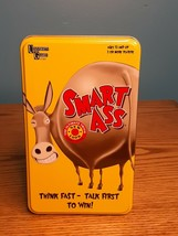 Smart Ass The Ultimate Trivia Card Game Ages 12+ NEW University Games 2+ Players - $12.38