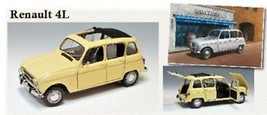 1/24 Renault 4L Japan Import Toy Hobb From japan - $80.53