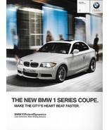 2012 BMW 1-SERIES Coupe brochure catalog 12 US 128i 135i - $8.00