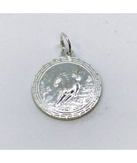 NEW .990 Sterling Silver Year of the Horse Lucky Pendant - $23.36