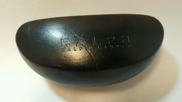 Ralph Lauren Hard Case Eyeglasses Case Black Reading Sunglasses - $13.22