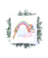 Painted Rainbow Cushion - $21.02