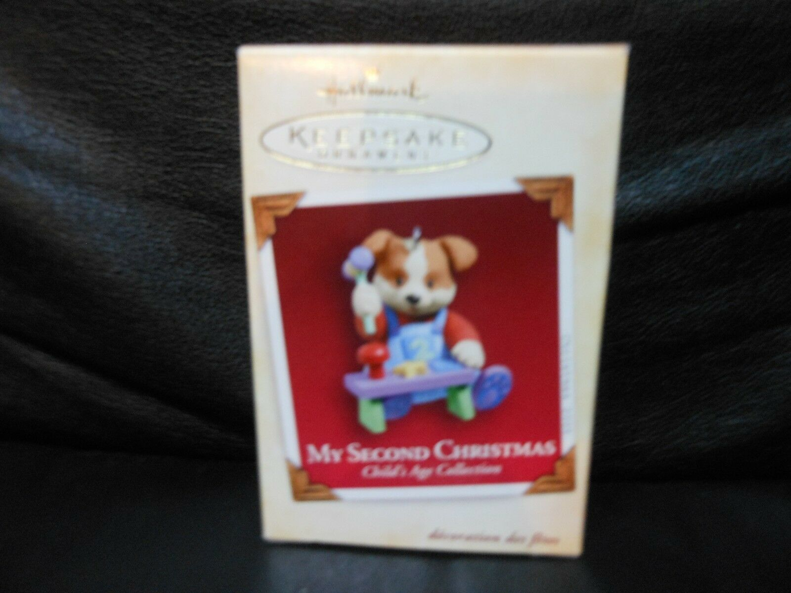 "Hallmark Keepsake ""My Second Christmas - Child's Age Collect"" 2005 Ornament NEW"
