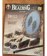Beading Book, Seed/Bugle Beads, 24 Projects, Sara Cantrell, Pre-owned, C... - $5.00
