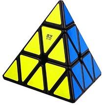CuberSpeed QiYi QiMing Pyramid black Magic Cube MoFangGe QiMing Pyramid ... - $9.06