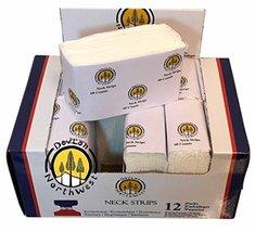 DevLon NorthWest Salon Neck Strips Paper 60 Strips Pack Of 12 NECK STRIPS image 3