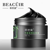 BEACUIR Bamboo Charcoal Tear Pull Black Mask Cleansing Blackhead Remov A... - $8.54