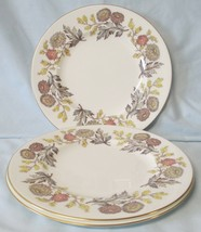 Wedgwood Lichfield W4156 Luncheon Plate set of 3 - $32.56