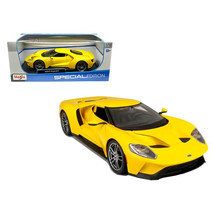 2017 Ford GT Yellow 1/18 Diecast Model Car by Maisto 31384Y - $39.99