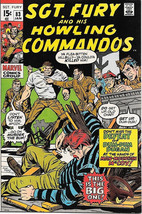 Sgt. Fury and His Howling Commandos Comic Book #83 Marvel 1971 VERY FINE - $14.98