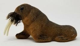 Vintage Wagner Kunstlerschutz Walrus Animal Figure Label  - $16.82