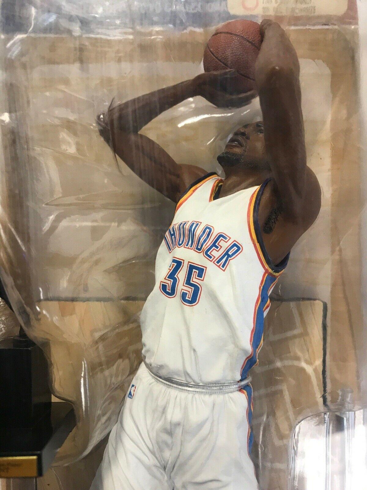 KEVIN DURANT OKLAHOMA CITY THUNDER NBA 25 game stop exclusive Mcfarlane