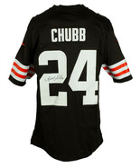 Nick Chubb Signed Cleveland Browns Nike Football Jersey JSA ITP Hologram - $257.39