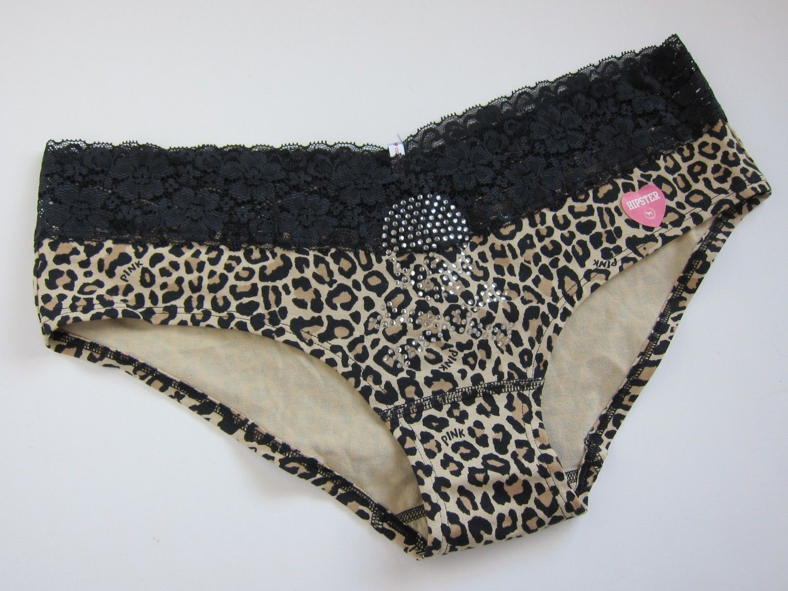 e4d834ab46b3e Victoria s Secret VTG CLASSIC PINK Extra Low Rise Hipster Panties LARGE -   12.86