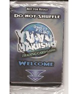 Score Yu Yu Hakusho Ghost Files Trading Cards Promo Pack Sealed Mint In ... - $19.95