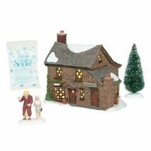 Dept 56 Dickens Village A Christmas Carol SCROOGE'S BOYHOOD HOME 6005415... - $142.49