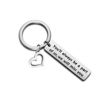 Zuo Bao Coworker Leaving Gift Going Away Keychain You'll Always Be A Par... - $28.99