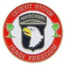 US Army Desert Storm Iraqi Freedom Pin - $5.93