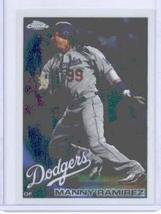 2010 Topps Chrome Baseball Card # 20 Manny Ramirez - Los Angeles Dodgers - MLB T - $0.97
