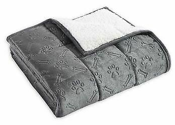 THERAPEDIC Weighted PET  Blanket 3 pounds GREY -   --FREE SHIPPING