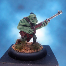 Painted Privateer Press Miniature Hordes Trollbloods Pyg Bushwhacker II - $37.25