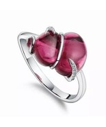 Women 925 Sterling Silver Ring Ruby Jewelry Wedding Party Ring Size 5-11... - $25.99
