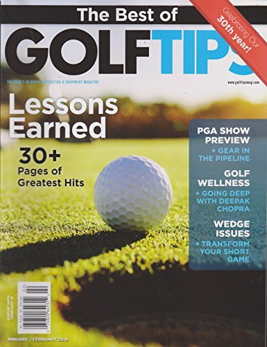 Primary image for The Best of Golf Tips Magazine January/February 2018 [Single Issue Magazine] Var