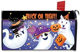 Briarwood Lane Trick or Treat Halloween Mailbox Cover Ghosts Candy Jack ... - £15.36 GBP